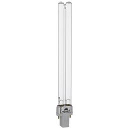 HEISSNER Lampe »«, 11W W, kunststoff glas, weiss silberfarben transparent
