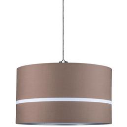PAULMANN Lampenschirm »URail«, BxHxL: 45,4 x 26 x 26cm, dunkelbraun