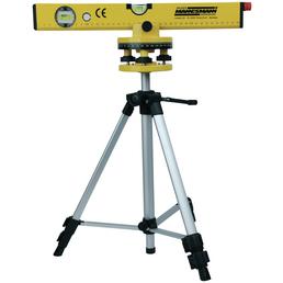 BRUEDER MANNESMANN WERKZEUGE Laser-Wasserwaage, Länge: 53 cm, gelb
