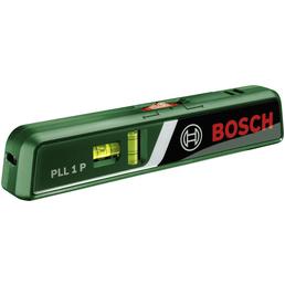 BOSCH Laser-Wasserwaage »PLL 1 P«, Nivelliergeräte, Länge: 23,3 cm, grün