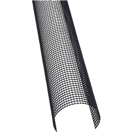 MARLEY Laubstop, Kunststoff, Länge: 2000 mm, schwarz