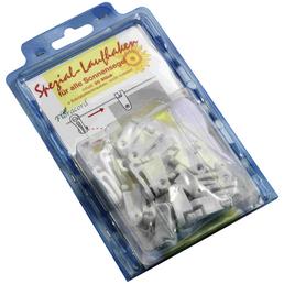 PEDDY SHIELD Laufhaken, 20 Stück, Kunststoff
