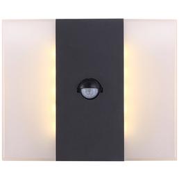 GLOBO LIGHTING LED-Außenwandleuchte »MOONLIGHT«, 11,6 W, inkl. Bewegungsmelder, IP44, warmweiß