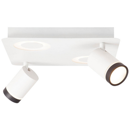 AEG LED-Deckenleuchte weiß 4-flammig, dimmbar, inkl. Leuchtmittel