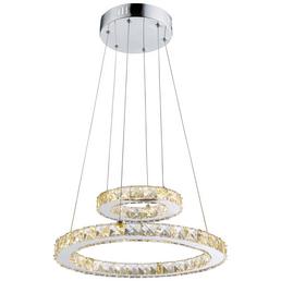 LED-Hängeleuchte »MARILYN I« chromfarben 1-flammig, inkl. Leuchtmittel in neutralweiß
