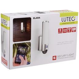 LUTEC LED-Kameraleuchte ELARA silber