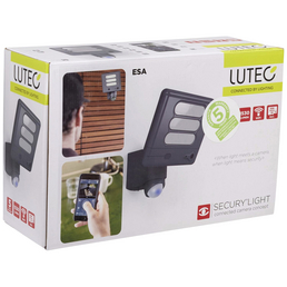 LUTEC LED-Kameraleuchte ESA schwarz