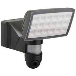 LUTEC LED-Kameraleuchte PERI grau