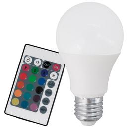 EGLO LED-Leuchtmittel »EGLO RGB_LM«, 6 W, E27, 3000 K, mehrfarbig, 470 lm