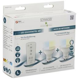 SCHWAIGER LED-Leuchtmittel »HOME4YOU«, 5,4 W, GU10, 2700 – 6500 K, 350 lm
