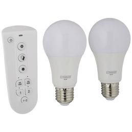 SCHWAIGER LED-Leuchtmittel »HOME4YOU«, 9 W, E27, 2700 – 6500 K, warmweiß/tageslichtweiß/neutralweiß, 806 lm
