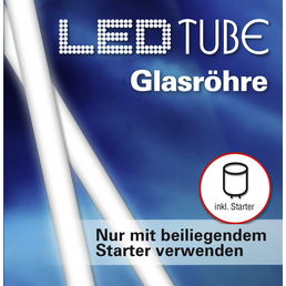 NÄVE LED-Leuchtröhre, 18 W, fest verbaut, 4000 K, neutralweiß, 1800 lm