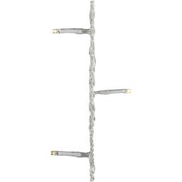 CASAYA LED-Lichterkette »LED Micro«, warmweiß, Netzbetrieb, Kabellänge: 9 m