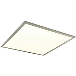 NÄVE LED Panel weiss/stahlfarben 1-flammig, inkl. Leuchtmittel in neutralweiß