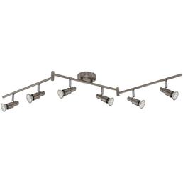 BRILONER LED-Spot »Deckenleuchte«, 6-strahlig, GU10, inkl. Leuchtmittel in warmweiß