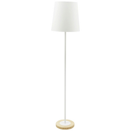 PAULMANN LED-Stehleuchte »Neordic Stellan« weiß/natur, Schirm-Ø x H: 35 x 161,5 cm, E27 ohne Leuchtmittel