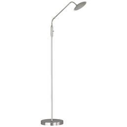 wofi® LED-Stehleuchte »ORTA« nickelfarben/chromfarben, H: 135 cm,  inkl. Leuchtmittel in Warmweiß