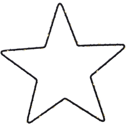 LUMINEO LED-Stern, Höhe: 0,5 cm