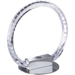 wofi® LED-Tischleuchte »Lund« nickelfarben, H: 24,6 cm, Integrierte LED inkl. Leuchtmittel in Warmweiß