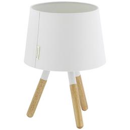 PAULMANN LED-Tischleuchte »Neordic Berit« weiß/natur, H: 31,5 cm, E27 ohne Leuchtmittel