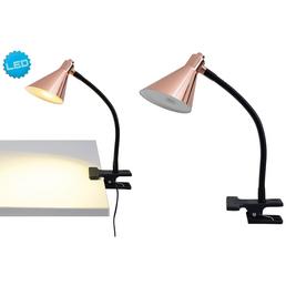 NÄVE LED-Tischleuchte »Pinhead« schwarz/kupferfarben, Schirm-Ø x H: 8,5 x 32 cm,  inkl. Leuchtmittel in Warmweiß