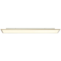 BRILLIANT LED-Wand-/Deckenleuchte nickelfarben 1-flammig, dimmbar, inkl. Leuchtmittel
