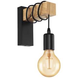 EGLO LED-Wandleuchte »TOWNSHEND«, Stahl/Holz