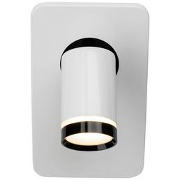 AEG LED-Wandstrahler schwarz/weiss 1-flammig, dimmbar, inkl. Leuchtmittel