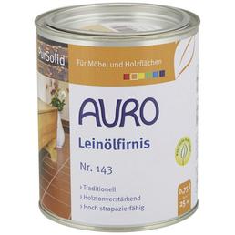 AURO Leinölfirnis »PurSolid«, transparent, glänzend, 0,75 l