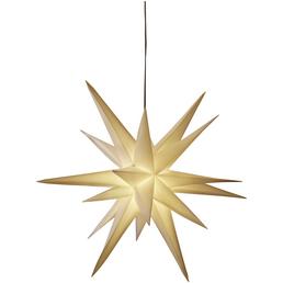 CASAYA Leuchtstern »3D«, weiß, ø: 57 cm, Netzbetrieb