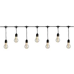 LUMINEO Lichterkette »Birne«, warmweiß, Netzbetrieb, Kabellänge: 9,5 m