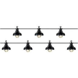 LUMINEO Lichterkette »Starter«, warmweiß, Netzbetrieb, Kabellänge: 10 m
