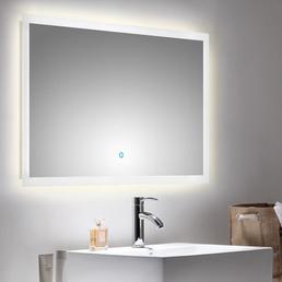 POSSEIK Lichtspiegel »LEVIA«, , BxH: 100 x 60 cm