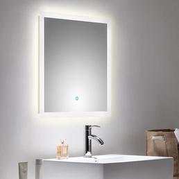 POSSEIK Lichtspiegel »LEVIA«, , BxH: 60 x 60 cm