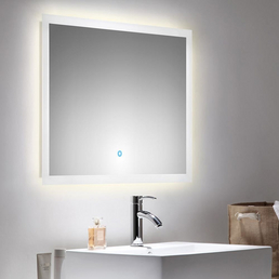 POSSEIK Lichtspiegel »LEVIA«, , BxH: 80 x 60 cm