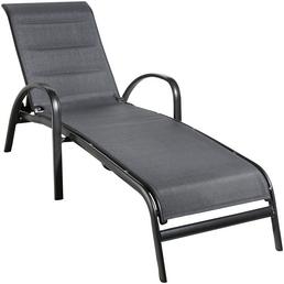 CASAYA Liege »Lacona«, Aluminium/Textilen, verstellbare Rückenlehne