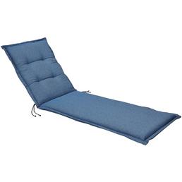 BEST Liegenauflage »Selection-Line«, blau, Uni, BxL: 60 x 190 cm