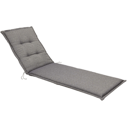 BEST Liegenauflage »Selection-Line«, grau, Uni, BxL: 60 x 190 cm