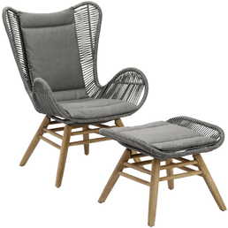 BEST Loungeset »Asmara«, Gestell: Holz