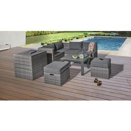 CASAYA Loungeset »Basal«, 6 Sitzplätze, inkl. Auflagen