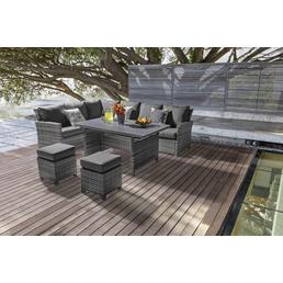 Loungeset »Fiami«, 10 Sitzplätze, inkl. Auflagen