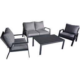 Loungeset »Victoria«, 4 Sitzplätze, inkl. Auflagen