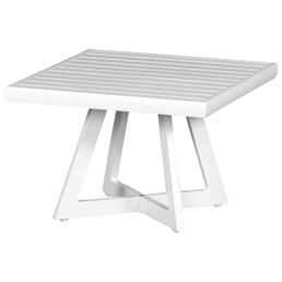 SIENA GARDEN Loungetisch »Alexis« mit Aluminium-Tischplatte, BxTxH: 50 x 50 x 35 cm