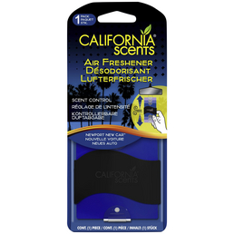 California Scents® Lufterfrischer »Newport New Car «, lila