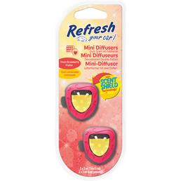 Refresh Your Car!® Lufterfrischer »Strawberry Lemonade«, rot/gelb