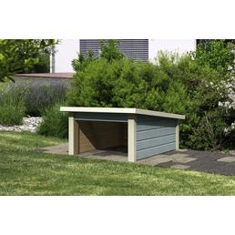 WOODFEELING Mähroboter-Garage, B x T: 78,6 x 109 cm (Außenmaße)