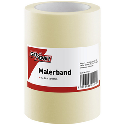 GO/ON! Malerband, 50 m x 50 mm, 3 Stk., Beige