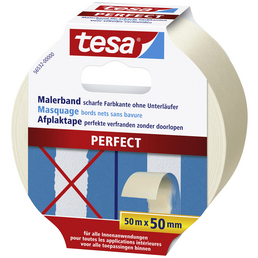 TESA Malerband, PERFECT, 50 m x 50 mm, Beige