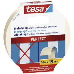 TESA Malerband, transparent, Breite: 1,9 cm, Länge: 50 m