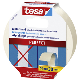TESA Malterband, PERFECT, 50 m x 30 mm, Beige